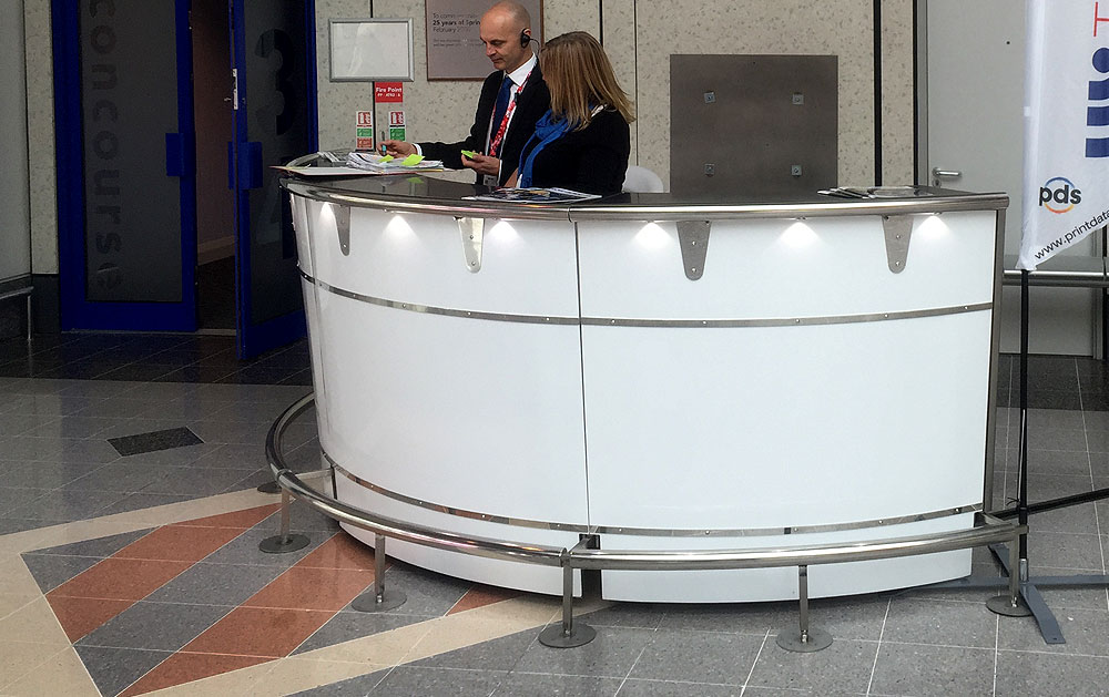 Exhibition Counter Hire