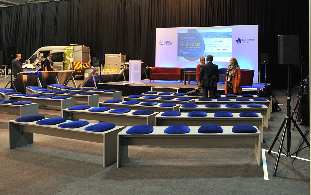 Exhibition Seminar Bench Hire