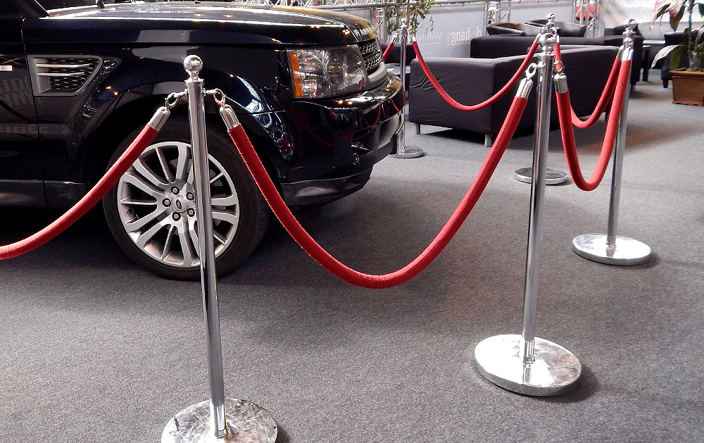 Exhibition VIP Barrier Hire