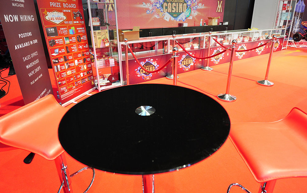 Stools & Table Hire For Exhibitions
