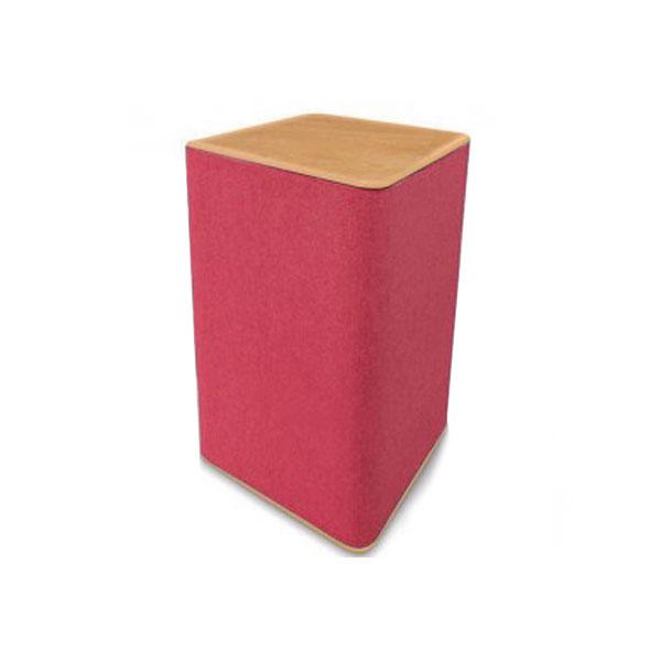 Rectangular Display Plinth - Red