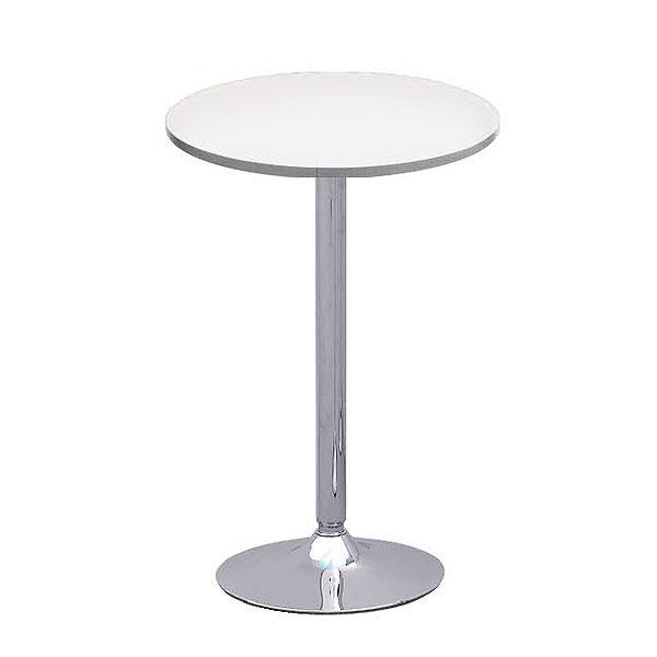 Oro Poseur Table - White
