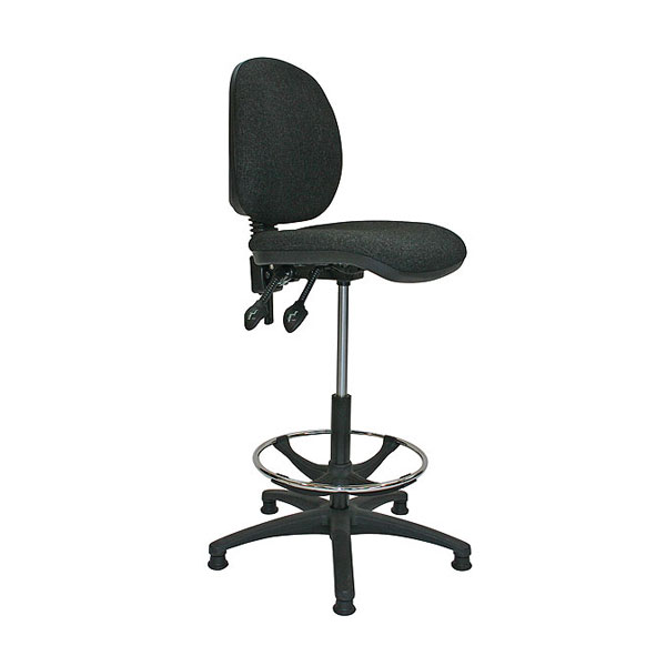 Booking Stool - Black