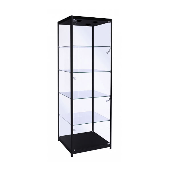 Tallboy Showcase Black
