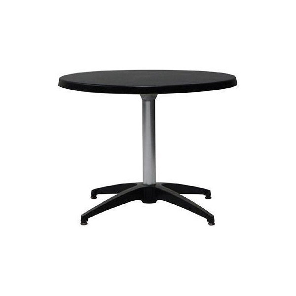 Pedestal Coffee Table - Black