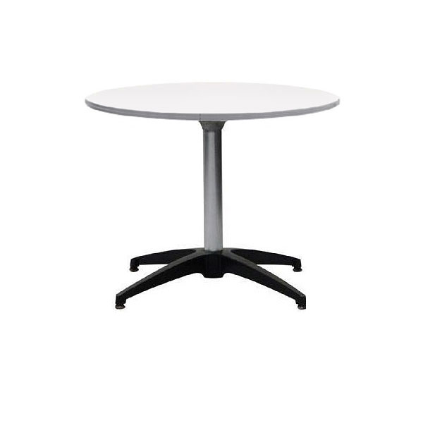 Pedestal Coffee Table - White