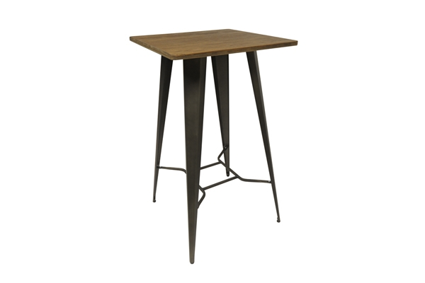 *New* Rustic Tolix poseur table for exhibitions