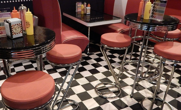 Hire stools for exhibitions