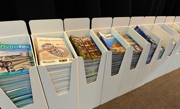 *NEW* Exhibition magazine bins
