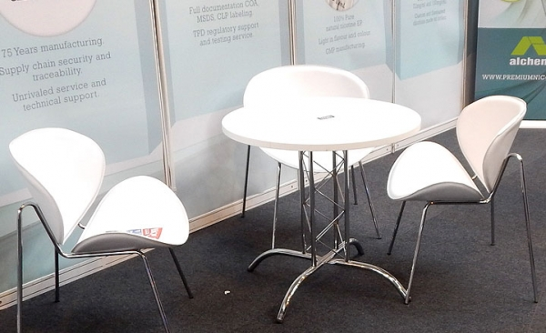 Table & chairs hire for exhibitions