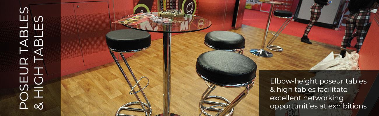 Poseur Tables & High Tables