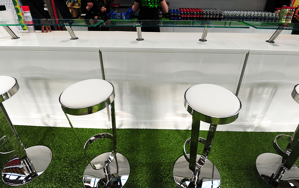 Counters & Stools Hire For Exhibitions