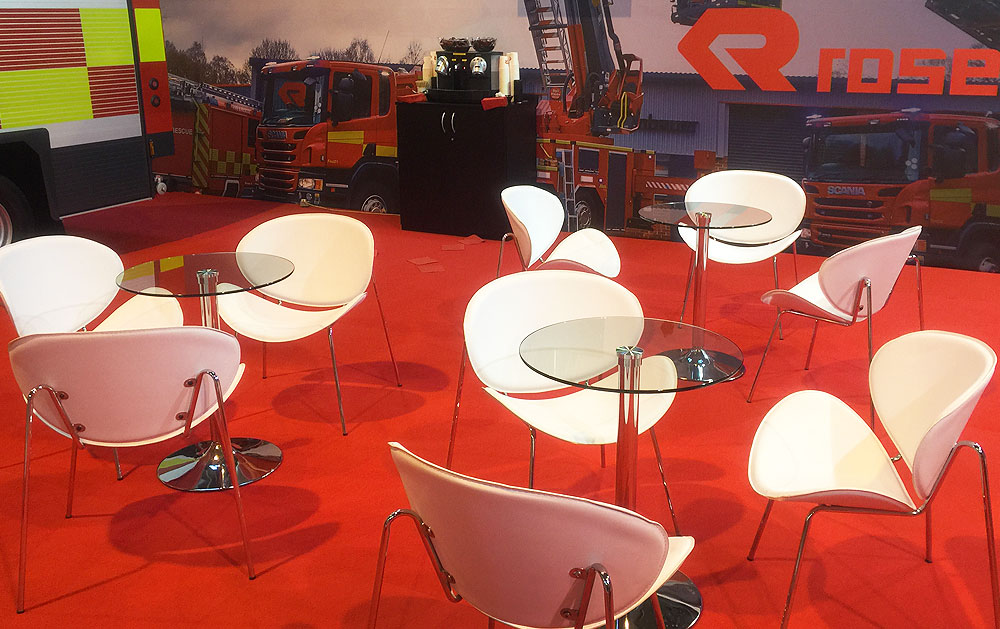 Exhibition Tables & Chairs Hire