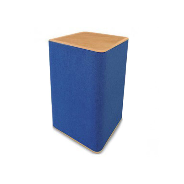 Rectangular Display Plinth - Blue