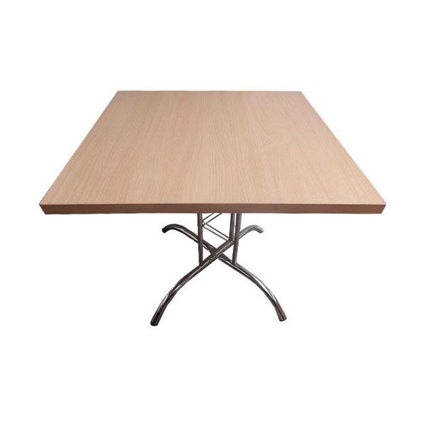 Square Lattice Table - Beech
