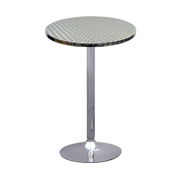 Oro Poseur Table - Aluminium