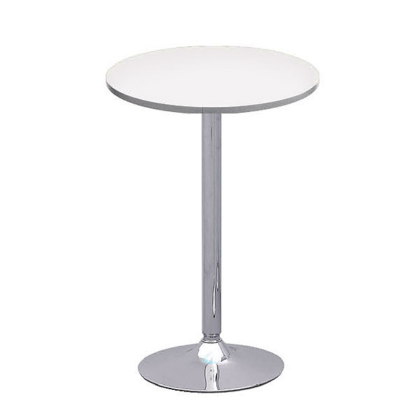 Oro Poseur Table - White