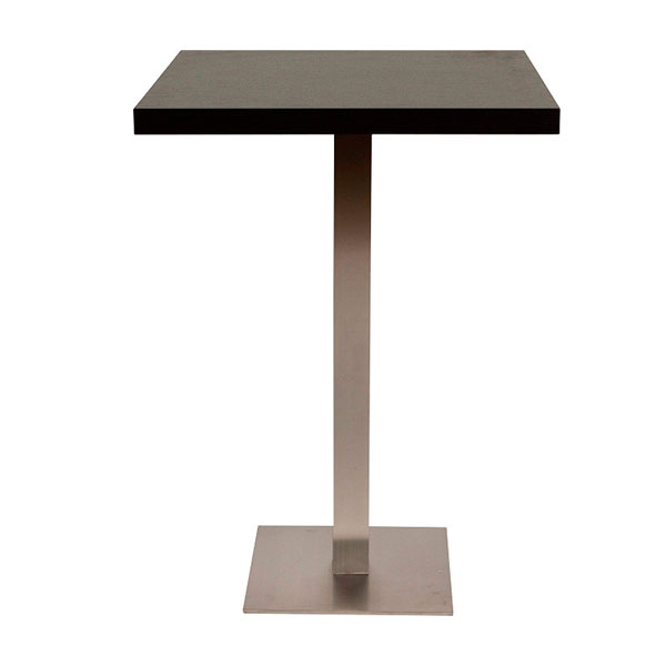 Piazza Poseur Table - Black