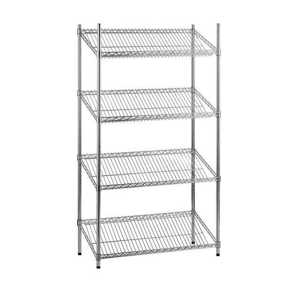 4 Shelf Magazine Rack