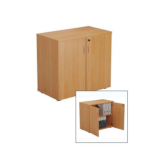Lockable Cupboard - Beech