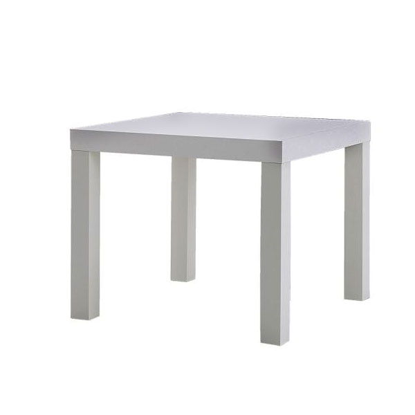 Square Coffee Table - White