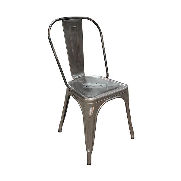 Tolix Chair - Gun Metal