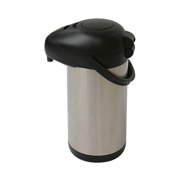 Pump Action Stainless Steel Vacuum Jug