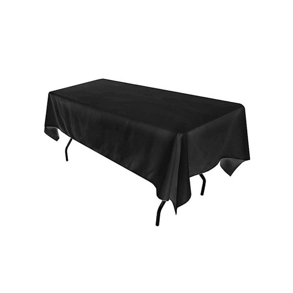 4ft Trestle Table With Black Cloth