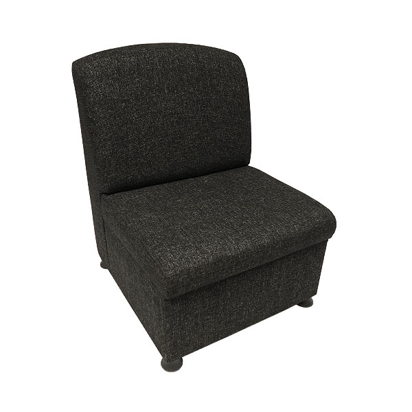 Fabric Unit Chair - Charcoal