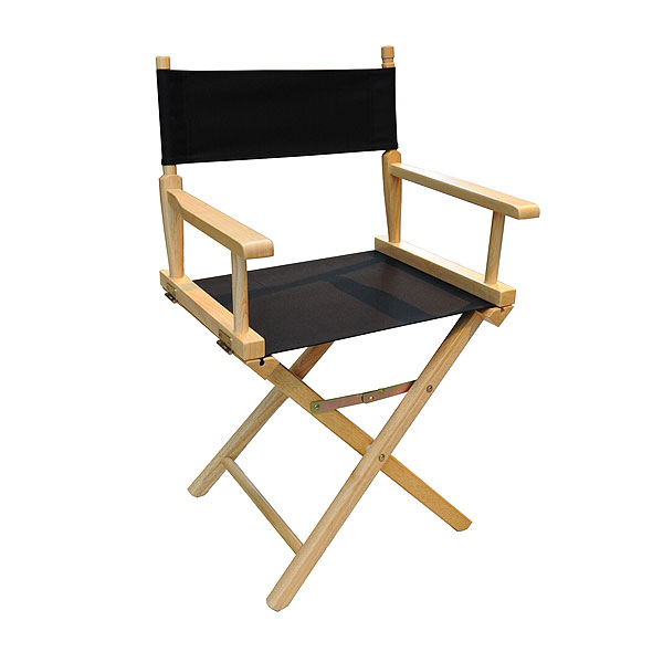 Directors Chair - Black