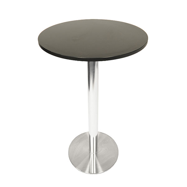Ice Poseur Table - Black