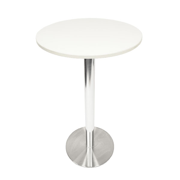 Ice Poseur Table - White