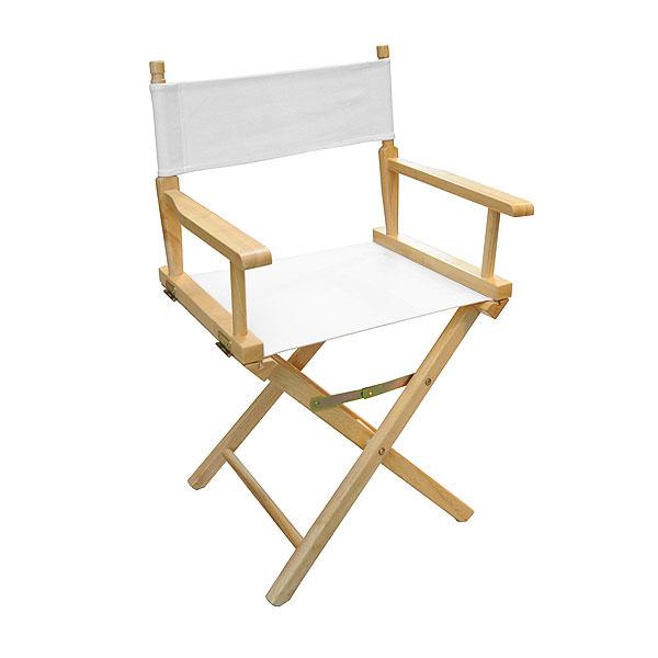 Directors Chair - White