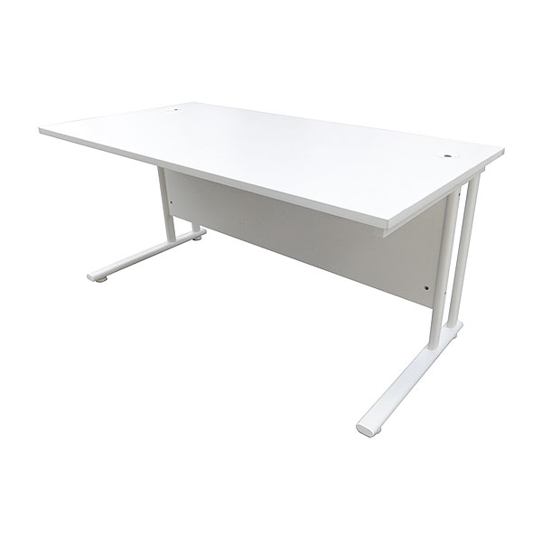 5ft Office Desk - White