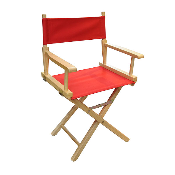 Directors Chair - Red