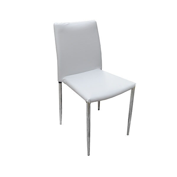 Rio Chair - Grey Faux Leather