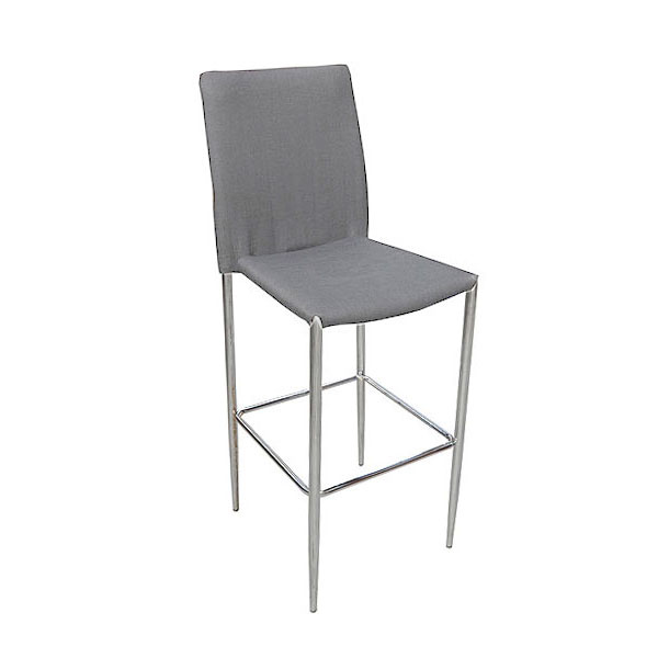 Rio Stool - Grey Fabric