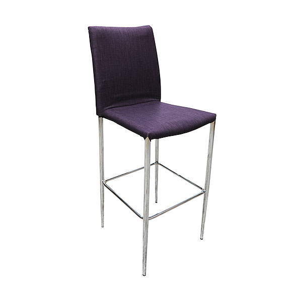 Rio Stool - Purple Fabric
