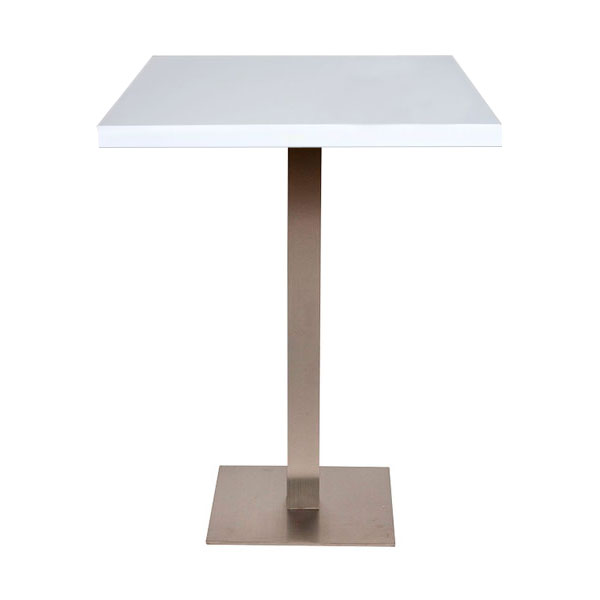 Piazza Poseur Table - White