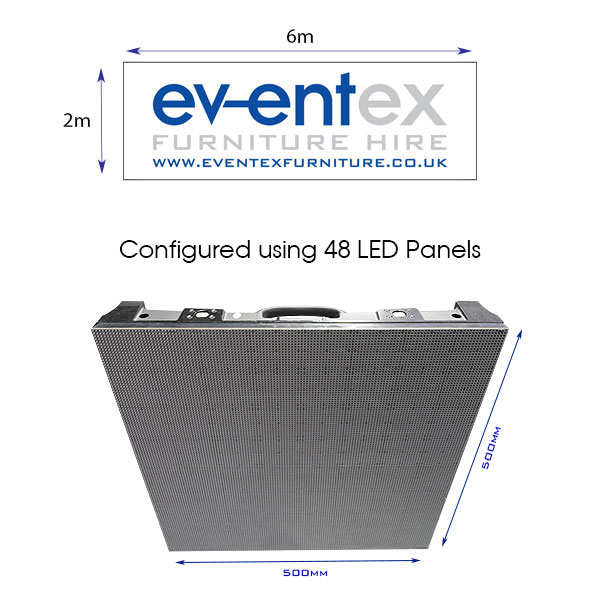 6m x 2m LED Screen