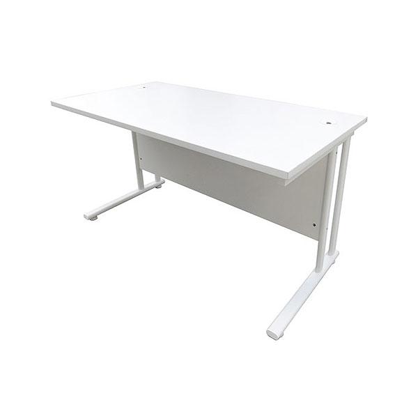4ft Office Desk - White