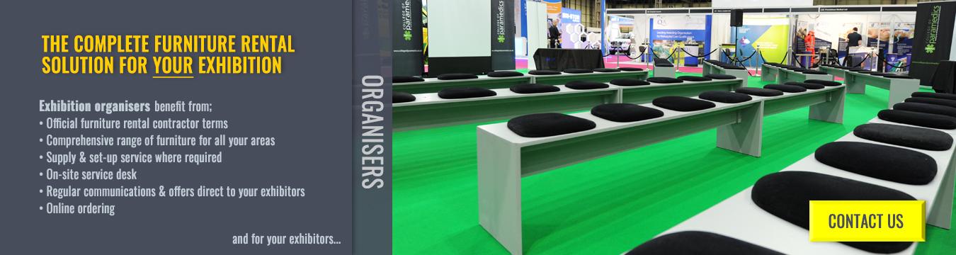 Exhibition Furniture Rentals