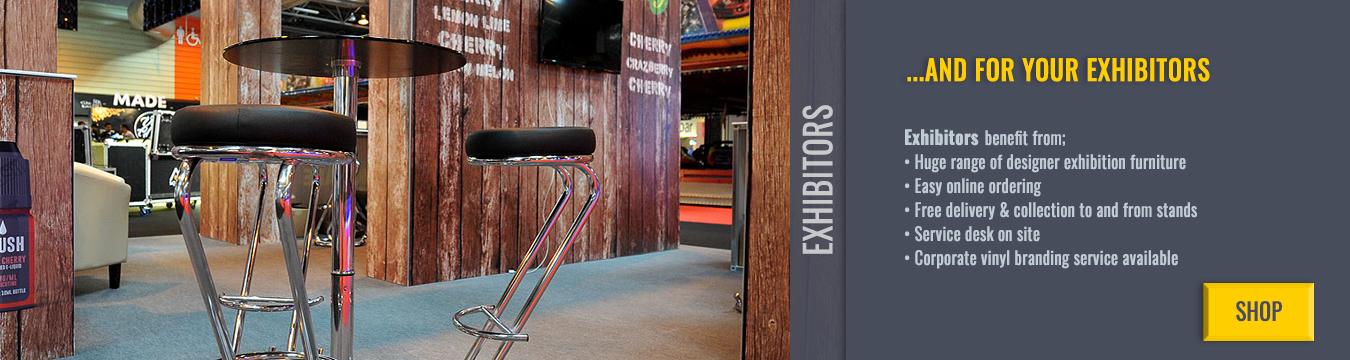 Rent Exhibition Furniture